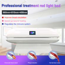 Infrared light bed red light therapy pod