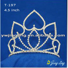 Holiday Rhinestone Pageant Tiara Crowns