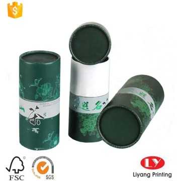 Custom paper tube tea packaging gift box