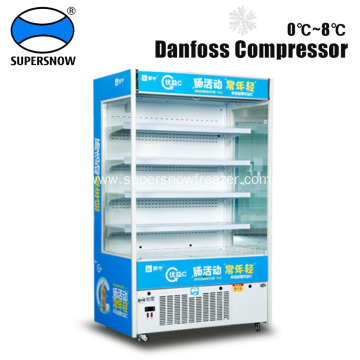 Vertical Open Commercial Display Coolers