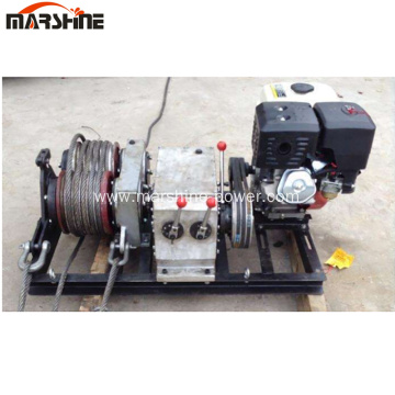 Double Drum Electric Cable Pulling Winch