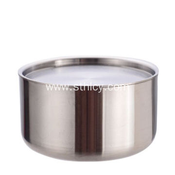 304 Stainless Steel Korean Household Bowl With Cover