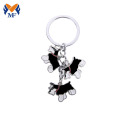 High quality custom soft enamel animal metal keychain