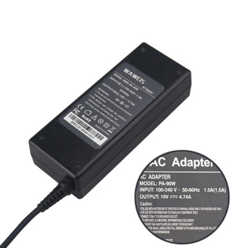 Hot Sellings 90W AC Adapter For Toshiba 19V4.74A