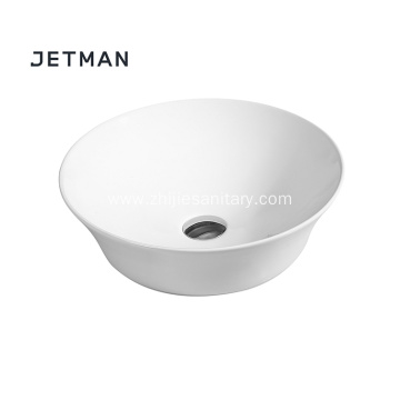 Wholesale wash art sinks round ceramic art basin