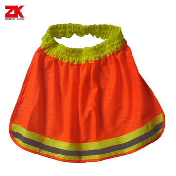 Mesh safety vest for dogs with elastic