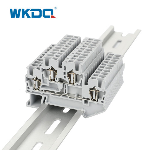 Double Level Spring  Terminal Block