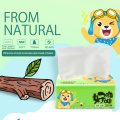 Top Quality Interfold Material Bamboo Facial Tissue Paper