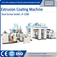 Single T DIE PE plastic film extruder machine