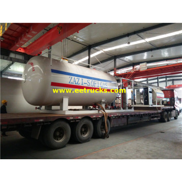 25000 Liters Autogas Skid Vessels with Pump