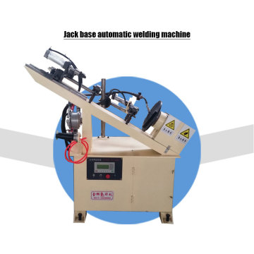 Easy operation screw jack base automatic welding machine
