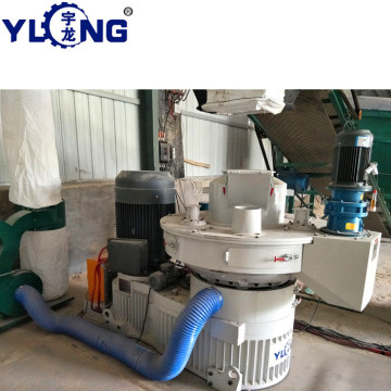 Rice husk pellet granulate machine
