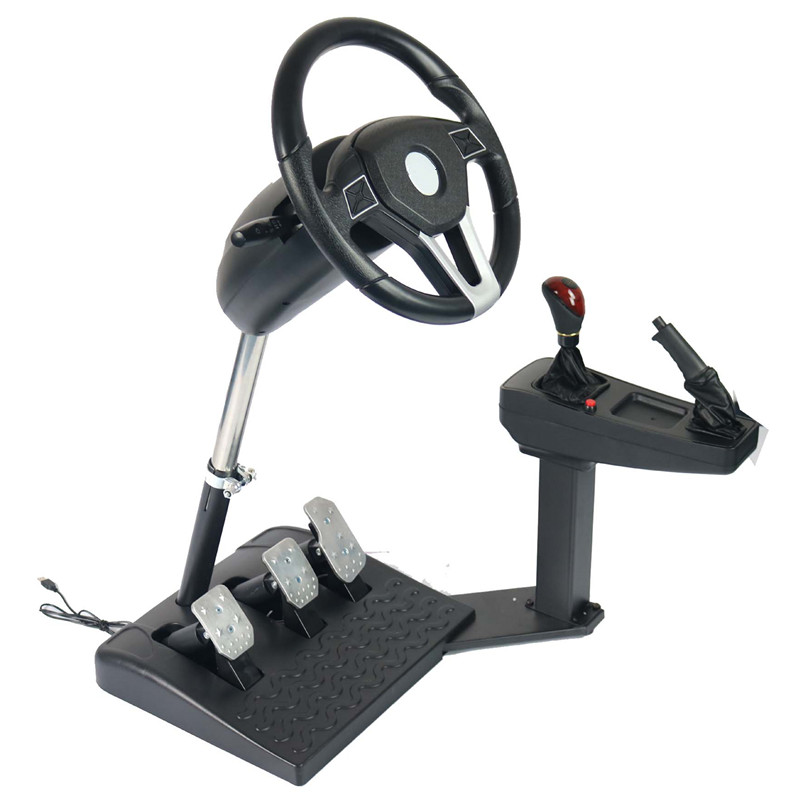 Adjustable race to learn to drive wheel drive vehicle school simulation Computer Games steering wheel english driving software