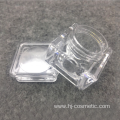 OEM/ODM high quality clear acrylic square cosmetic jars with good price