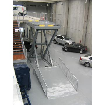 Movable car lift platform