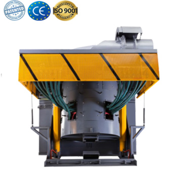 Gold copper iron induction melting furnace