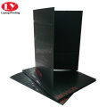 UV A4 paper document folder with card slot