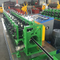 Steel wall angle roll forming machine