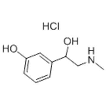 DL-Phenylephrine cloridrato CAS 154-86-9