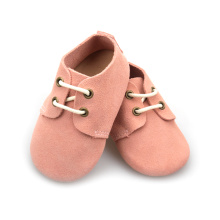 Leather Baby Oxford Shoes Soft Sole