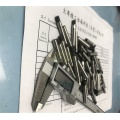Tungsten carbide tool machining custom threaded pins
