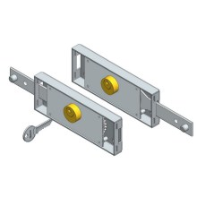 Single Side Roller Shutter Lock Kit