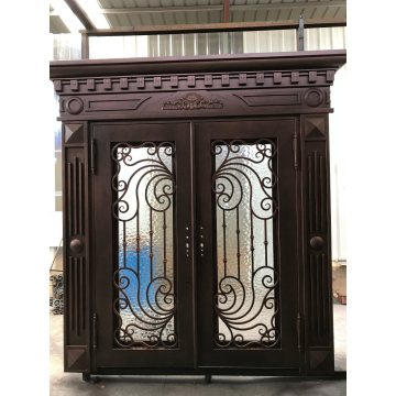 Exterior Door Wrought Iron Double Door