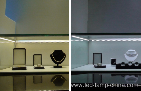 Customized length led aluminum profile