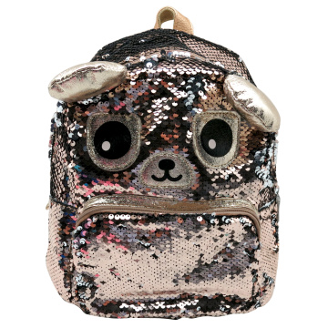 BEAR SEQUIN BACKPACK -0