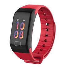 F1Plus Smart Bracelet Waterproof Heart Rate Monitor Blood Pressure Activity Fitness Tracker Pedometer Smart Band for ios android