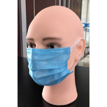Disposable Blue 3 Ply Face Mask