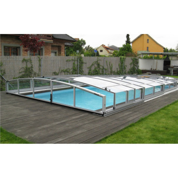 diy Polycarbonate Shade Retractable Swimming Pool Enclosures