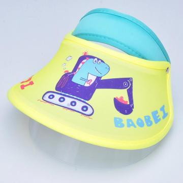 Kids double faceshield protective mask medical