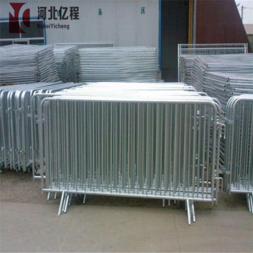 Galvanized Temporary Crowd Control Barrier
