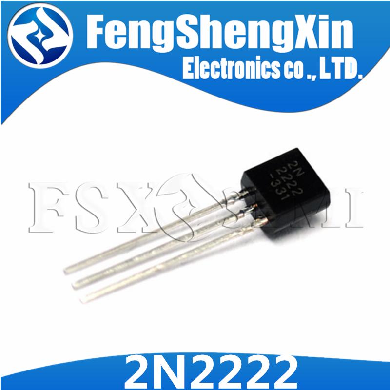 1000pcs/lot New 2N2222 2N2222A 2222 Transistors NPN TO-92