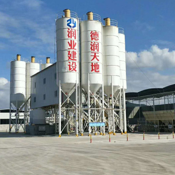 Mini portable ready mixed 120m3h concrete batching plant