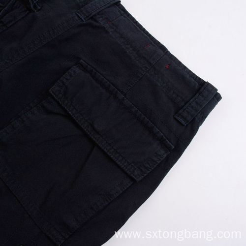 Classic Fit Blank Shorts For Men