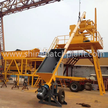 Myanmar Small Mobile Concrete Batchig Plant Cost
