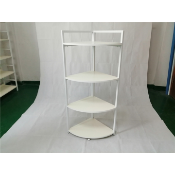 High quality MDF decoration shelf corner standing