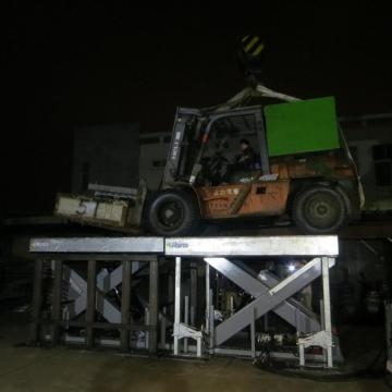 Pallet lift table Hydraulic