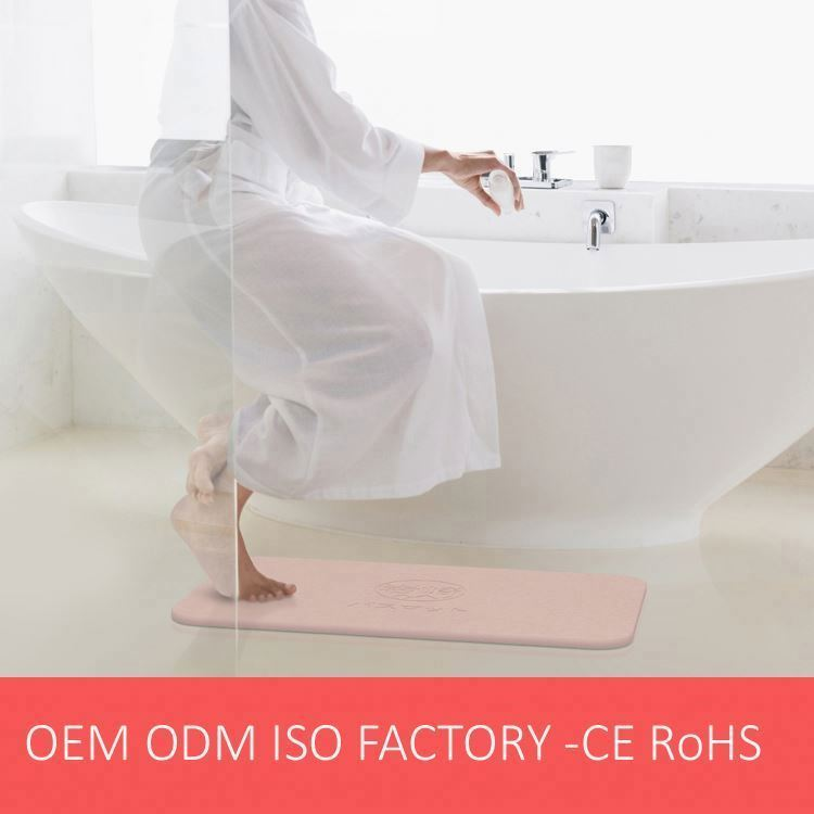 Healicer Factory OEM Fast Water Absorption Bath Mat