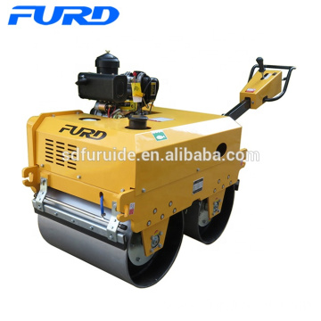 New Design Model Walk-behind Tandem Drum Roller with Nice Price