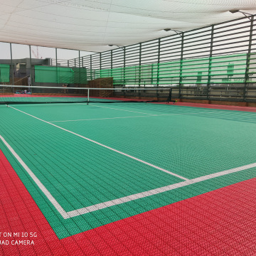 ITF/Tennis Court/Tennis Surface/Flooring/PP Interlock Floor