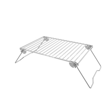 Height Adjustable Foldable BBQ Grill