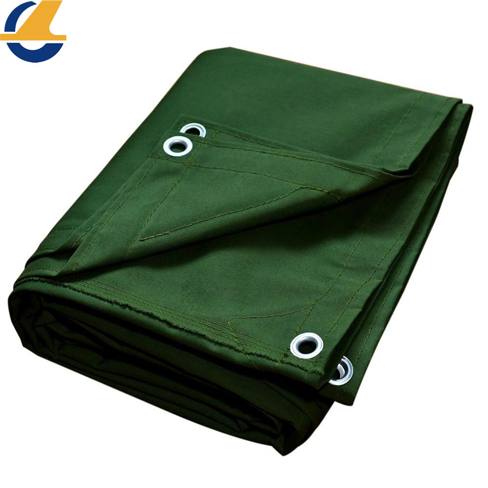 Cotton Canvas Tarps for Roofs Waterproof