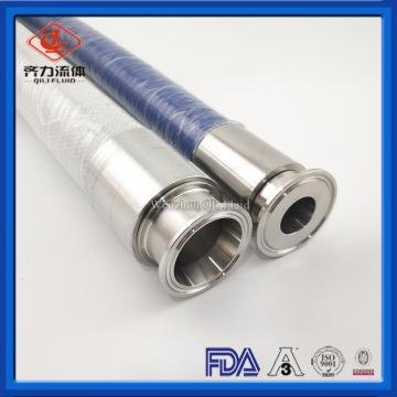 Food liquids hose clear Spiral Wire Reinforced