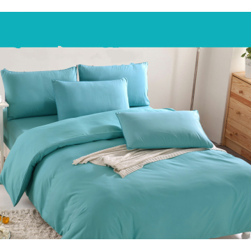 Customized Solid Color Polyester Fabric For Bedding Set