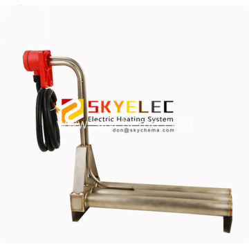 Triple Horizontal Type Titanium Electric Water Heater