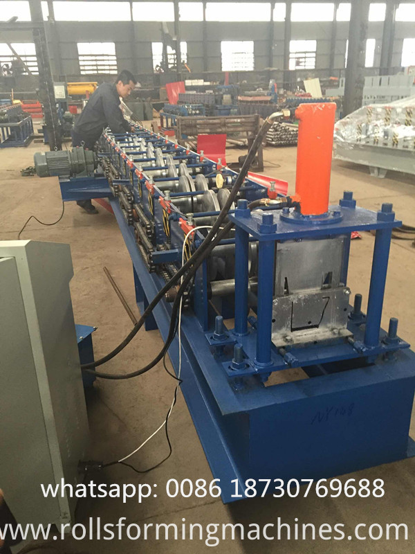 gutter roll forming line