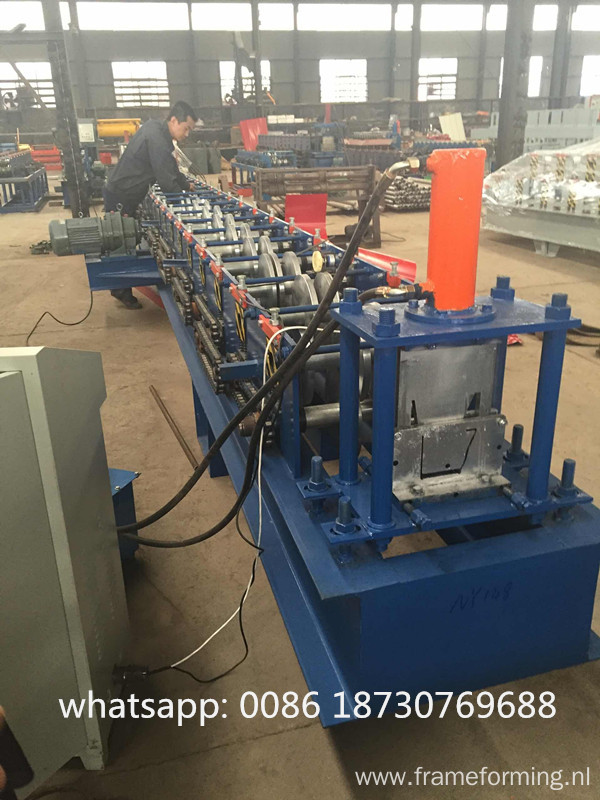 water channel roll forming machine